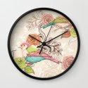 Country Garden Wall Clock