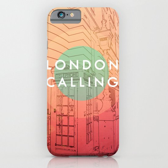 Songs and Cities: London Calling iPhone & iPod Case