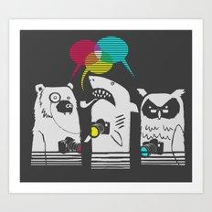 Color Theorists Art Print
