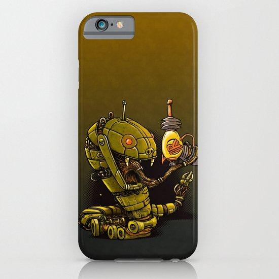 Robot Reptile Raygun iPhone & iPod Case