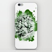 TMNT Redo iPhone & iPod Skin
