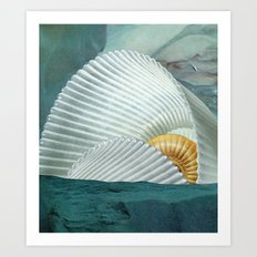 the cave (with david delruelle) Art Print