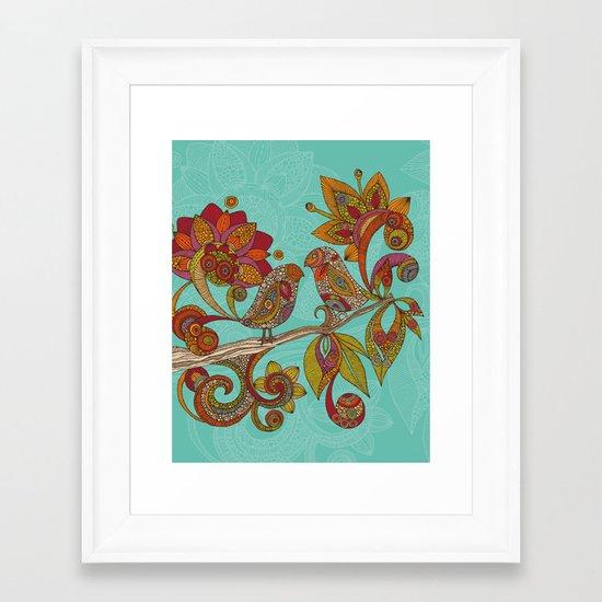 Hello Birds Framed Art Print