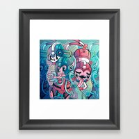 MegaPals Framed Art Print