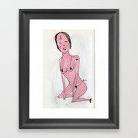 Sexy Ladies 4 Framed Art Print