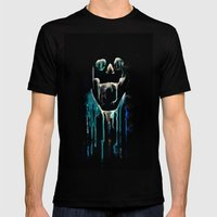 skull drips  2 Mens Fitted Tee Black SMALL