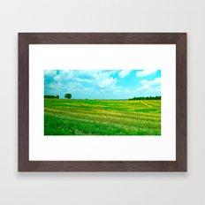 Kentucky Skies  Framed Art Print