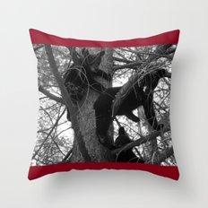 Berry Beary Throw Pillow