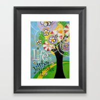 Life Is Framed Art Print