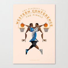 NBA PLAYOFFS 2014 - WESTERN CONFERENCE FINALS Canvas Print