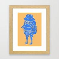 Backpacker Framed Art Print