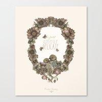 Le Petit, Amour, Délica… Canvas Print