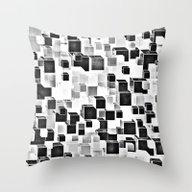 Sugar (monochrome Series… Throw Pillow