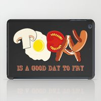 Today Is A Good Day To F… iPad Case