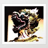 Pixel Of Thailand Art Print