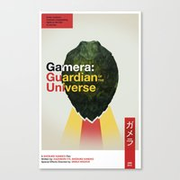 Guardian Of The Universe Canvas Print