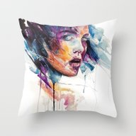 Sheets Of Colored Glass Throw Pillow