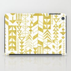 Golden Doodle arrows iPad Case