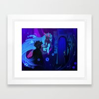 Gil And Nevy Framed Art Print