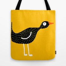bird - yellow Tote Bag