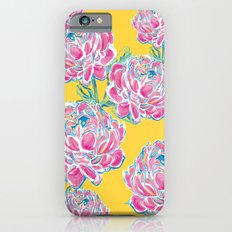Peony : Yellow Slim Case iPhone 6s