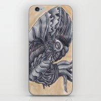 Mars Octopus iPhone & iPod Skin