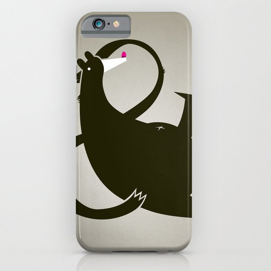 amp-bear-sand poster iPhone & iPod Case