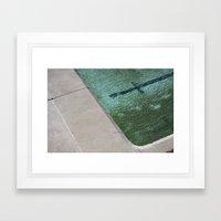 Clovelly Pool Framed Art Print