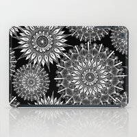 Mandala Negative iPad Case