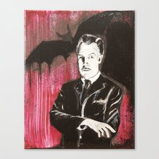 Vincent Price The Bat Canvas Print
