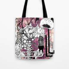 Missing Parts Tote Bag