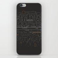 City 24 iPhone & iPod Skin