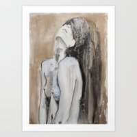 Ages pass and still there is room to fill Art Print