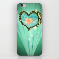 Heart Container  iPhone & iPod Skin