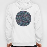 Colored Chalk Floral Doo… Hoody