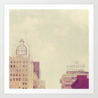 Patron. Los Angeles Holl… Art Print