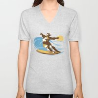 God Surfed Unisex V-Neck