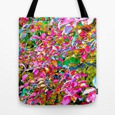 Colorful Leaves Tote Bag