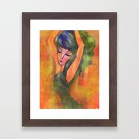 Dancing in Light Framed Art Print