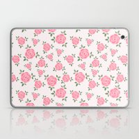 Pink Flowers Pattern Laptop & iPad Skin