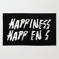 HAPPINESS HAPPENS Rug