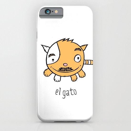 el gato iPhone & iPod Case