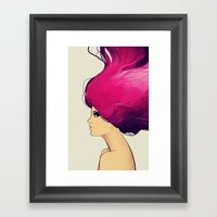 Blaze Framed Art Print