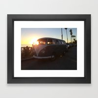 VW Framed Art Print