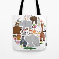 The Animal Kingdom Tote Bag
