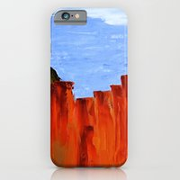 iPhone & iPod Case featuring High Desert Canyons by sarah mah