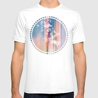 SQUARES DANCING Mens Fitted Tee White SMALL
