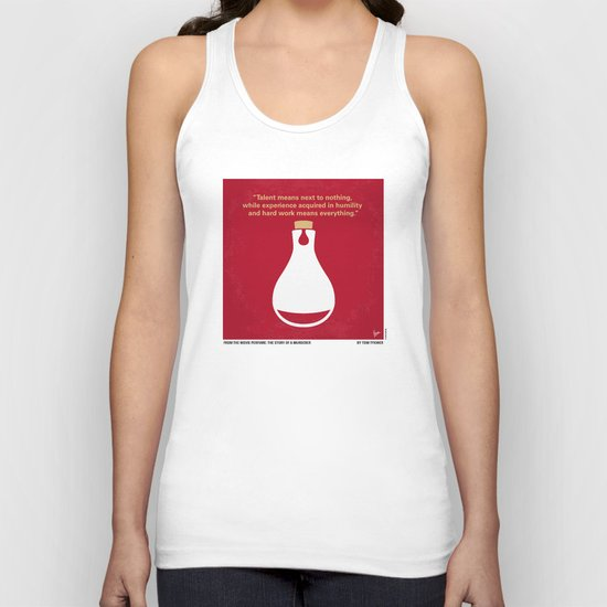 No194 My Perfume The Story of a Murderer minimal movie poster Unisex Tank Top