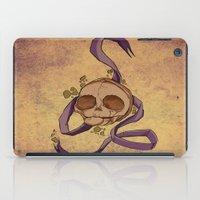 Skull and ribbon  iPad Case