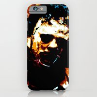 iPhone & iPod Case featuring Leatherface by Processed Image
